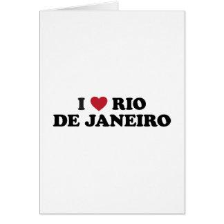 I Heart Rio de Janeiro Brazil Greeting Card