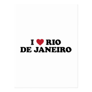 I Heart Rio de Janeiro Brazil Postcard
