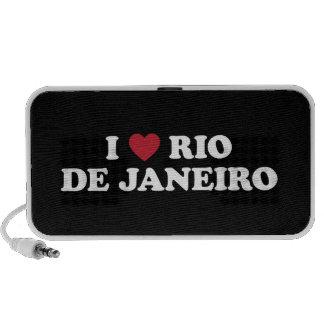I Heart Rio de Janeiro Brazil Mini Speakers