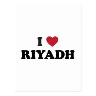 I Heart Riyadh Saudi Arabia Postcard