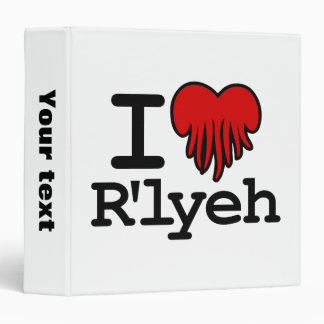 I Heart R'lyeh Binder