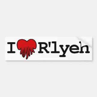 I Heart R'lyeh Bumper Sticker