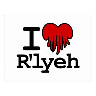 I Heart R'lyeh Postcard