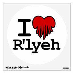 I Heart R'lyeh Wall Sticker