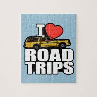 I Heart Road Trips Jigsaw Puzzle