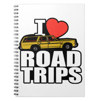 I Heart Road Trips Notebook