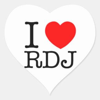 I Heart Robert Downey Jr. sticker