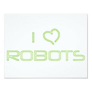 I Heart Robots Custom Announcement