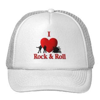I Heart Rock & Roll Trucker Hat