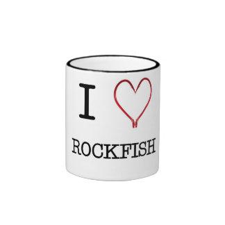 I [Heart] Rockfish Ringer Mug