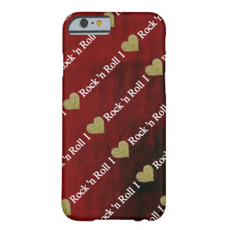 I heart Rock'n Roll Barely There iPhone 6 Case