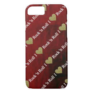 I heart Rock'n Roll iPhone 8/7 Case