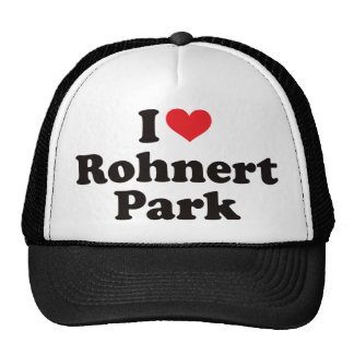 I Heart Rohnert Park Trucker Hat