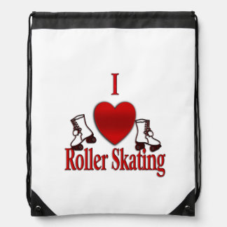 I Heart Roller Skating Backpack