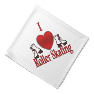 I Heart Roller Skating Bandana