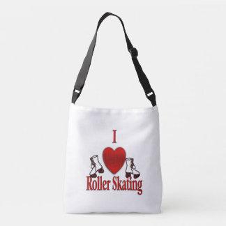 I Heart Roller Skating Crossbody Bag