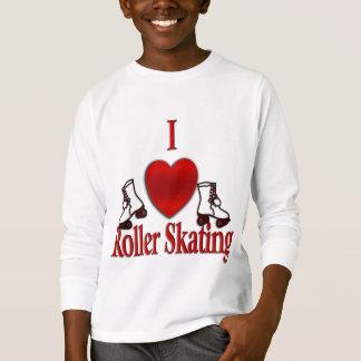 I Heart Roller Skating T-Shirt