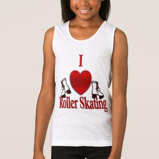 I Heart Roller Skating Tank Top
