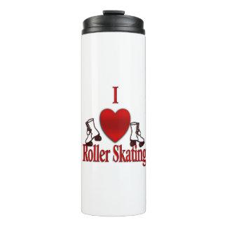 I Heart Roller Skating Thermal Tumbler