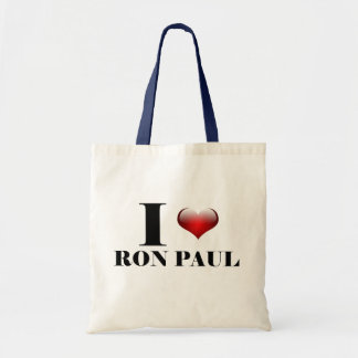 I heart Ron Paul Tote Bag