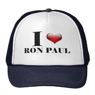 I heart Ron Paul Trucker Hat