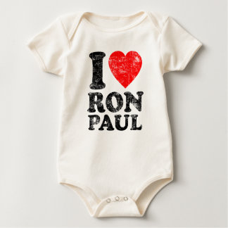 I Heart Ron Paul Bodysuit