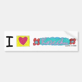 I Heart Rosechu Bumper Sticker