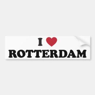 I Heart Rotterdam Netherlands Bumper Sticker
