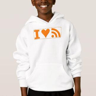 I Heart RSS Hoodie