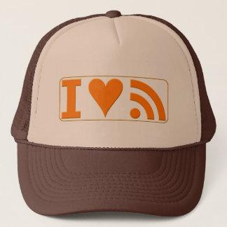 I Heart RSS Trucker Hat