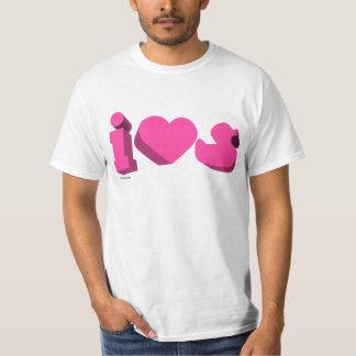 I Heart Rubber Ducks 3D (Unisex) T-Shirt