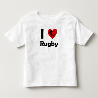 I Heart Rugby T Shirt