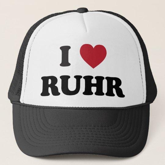 I Heart Ruhr Germany Trucker Hat