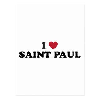 I Heart Saint Paul Minnesota Post Cards