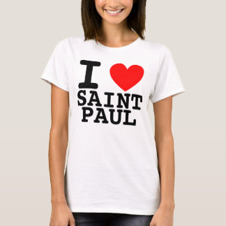 I Heart Saint Paul Shirt