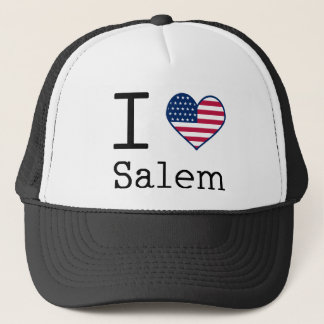 I heart Salem Trucker Hat