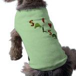 I Heart Salsa Dog Tshirt