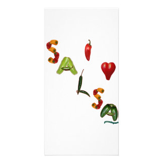 I Heart Salsa Photo Cards