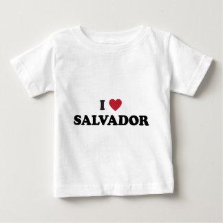 I Heart Salvador Brazil Baby T-Shirt