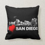 I Heart San Diego Pillow