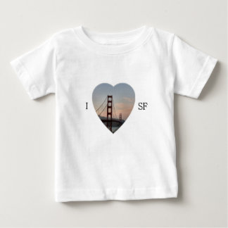 I Heart San Fracisco Baby T-Shirt