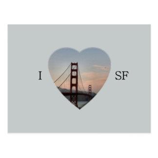 I Heart San Framcoscp Postcard