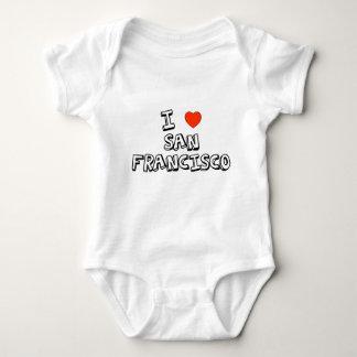 I Heart San Francisco Baby Bodysuit