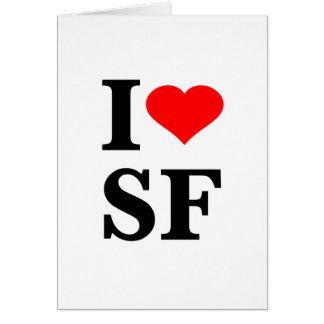 I Heart San Francisco Greeting Cards