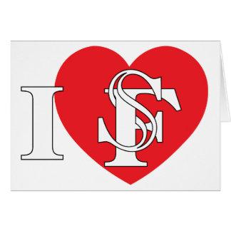I Heart San Francisco Cards