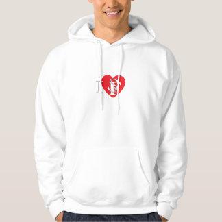 I Heart San Francisco Hoodie
