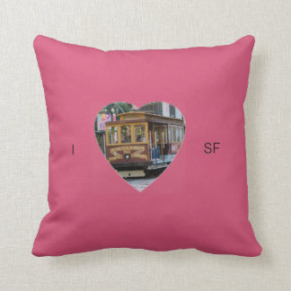 I Heart San Francisco Pillow