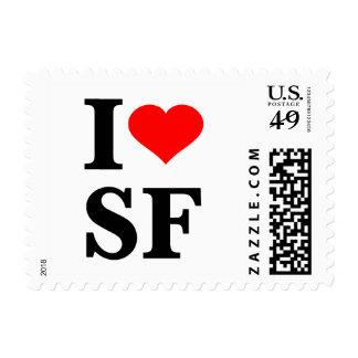 I Heart San Francisco Stamp