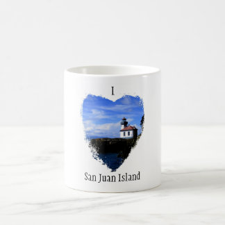I heart San Juan Island! Coffee Mug