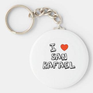 I Heart San Rafael Keychain